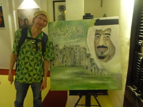 Backpacking Saudi Arabia