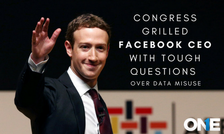 Congress Has Grilled Facebook CEO with Tough Questions