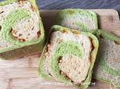 Matcha Kinako Butterscotch Chips Bread