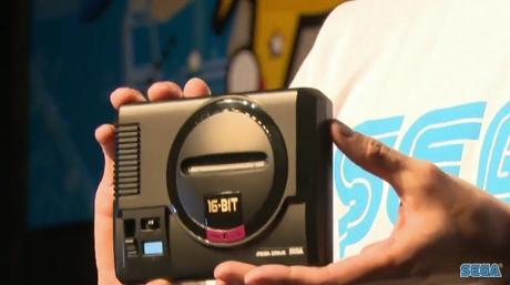 SEGA Mega Drive Mini announcement