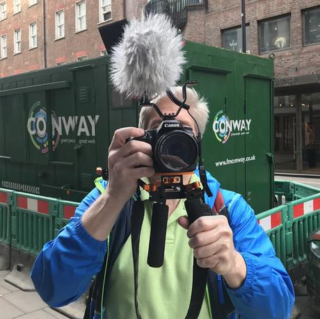 Action! It's A Busman's Holiday For Jim Albritton of Newsocracy