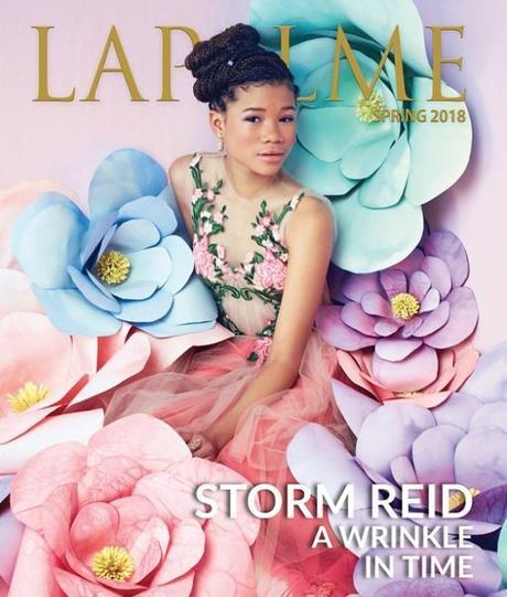 Storm Reid Celebrates 1st Magazine Cover In L.A.