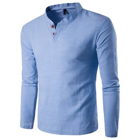 long sleeve linen shirts