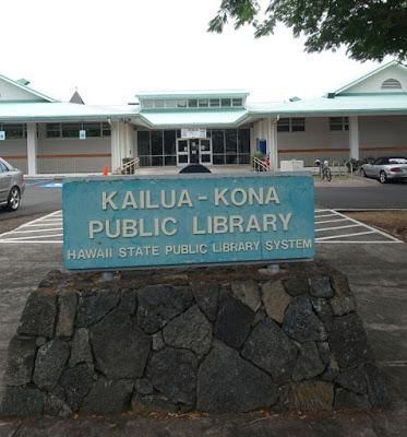 Visit to the Kona Library in Hawaii
