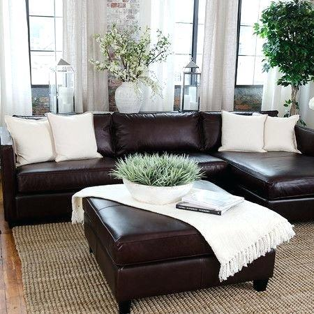 Brown Leather Sofa Living Room Paperblog, Brown Leather Sofa Living Room Ideas