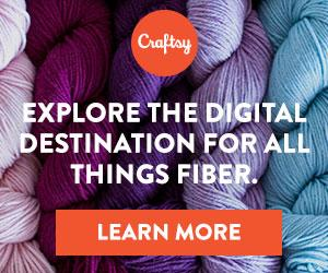 Everything you need to knit, crochet, spin and weave at Craftsy.com