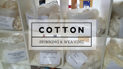 Spinning and weaving - Sea Island Cotton Pursuits