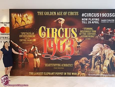 Our Date Back In Time With Circus 1903
