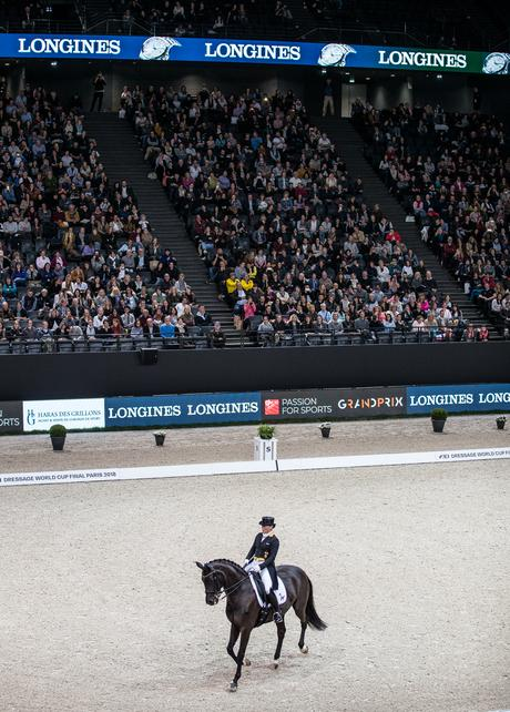 Fitness On Toast - FEI Dressage World Cup Finals Paris April 2018 France-14