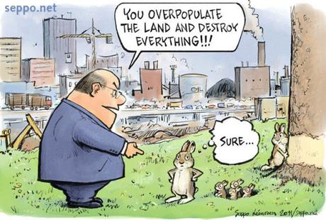 Cartoon guide to biodiversity loss XLVIII