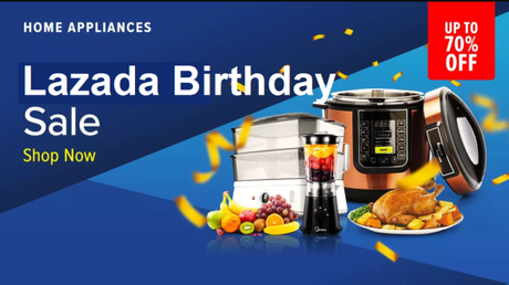 5 Things You Can Get From Lazada Birthday Sale 2018 In Singapore & Philippines!