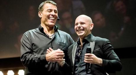 Rapper Pitbull Going On Motivational Tour With Tony Robbins