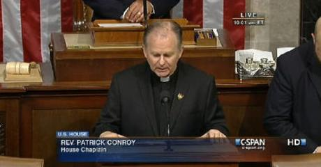 House Chaplain Fired By Speaker of the House Paul Ryan
