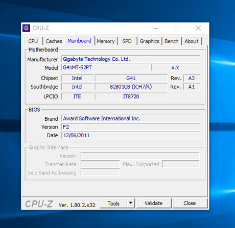 How to Check Your Motherboard Model Number on Your Windows PC using cpuz