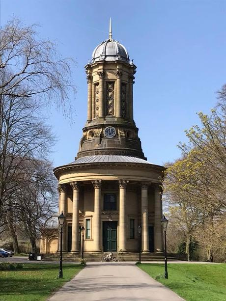 Saltaire Church, where Titus Salt is interned in a mausoleum