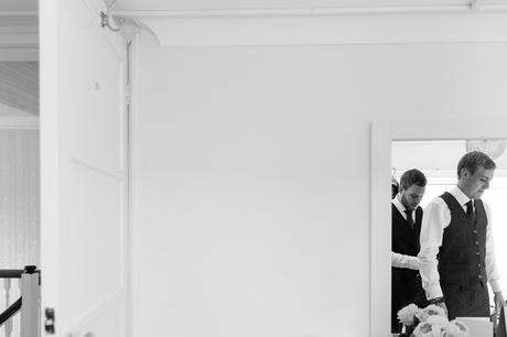 Barmbyfield Barn Wedding Photography groom preparation