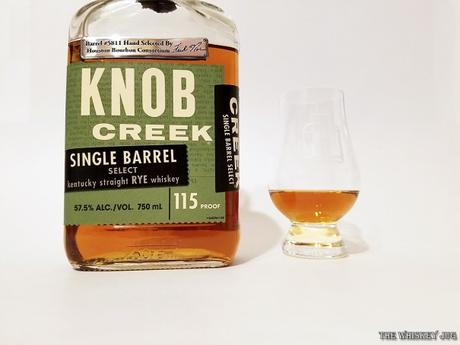 Knob Creek Rye Single Barrel Color