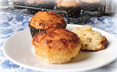 Cheddar & Honey Mustard Muffins