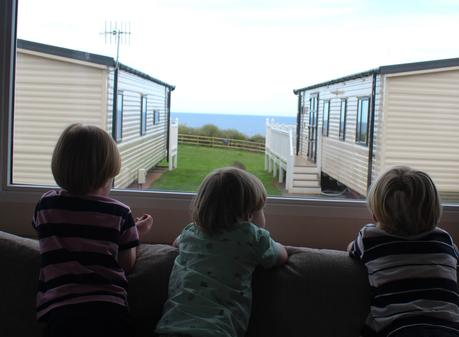 A Traditional British Sea Side Holiday At Ladram Bay