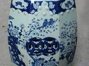 Chinese Blue White Porcelain Garden Stool