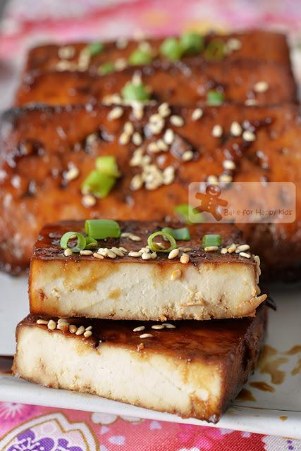 Oven Baked Japanese Teriyaki Tofu - Vegan, Easy and Tasty! HIGHLY RECOMMENDED!