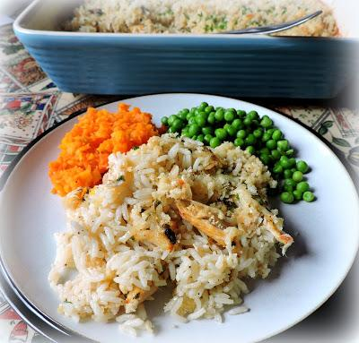 Garlic Chicken & Rice