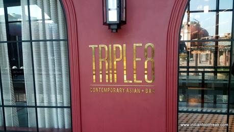 Triple 8, Ansal Plaza, Delhi: An Asian Treat