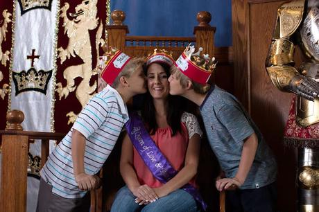 Mom Is A Queen For A Day At Medieval Times Dinner and Tournament