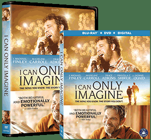 """""""I Can Only Imagine"""" Movie Coming To DVD/Blu-ray In June"""