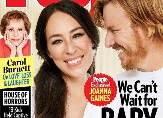 "Joanna Gaines ""Jaw Dropped"" When She Found Out She Was Pregnant"