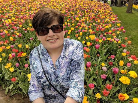 Visit Keukenhof Tulip Garden Holland Selfie