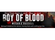Blog Tour: Blood Megan O'Russell #giveaway