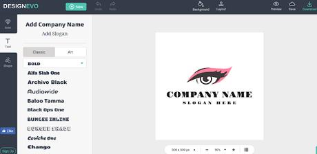 free logo making website