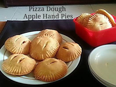 Pizza Dough Apple Hand Pies Recipe @ treatntrick.blogspot.com