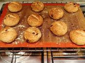 Vegan Chocolate Chip Almond Sourdough Buns!