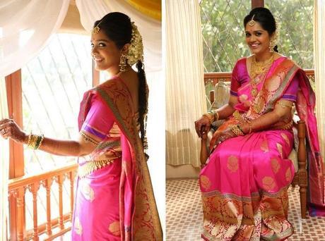 Benarasi saree for wedding