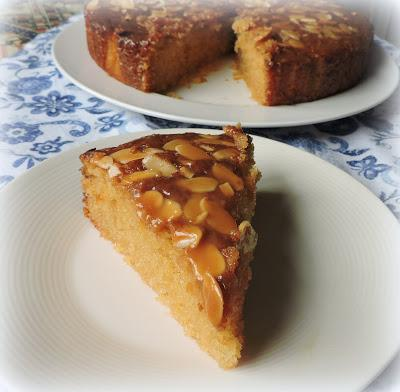 Toffee Almond Cake