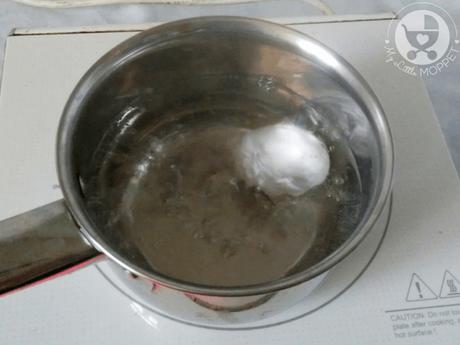 Egg Yolk Mash with Orange Juice