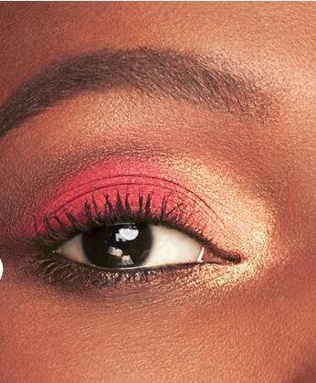 Maybelline lemonade craze eyeshadow palette eye makeup look