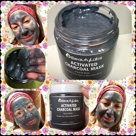 Activated Charcoal Face Mud Mask by iBeautyLabs – A Review