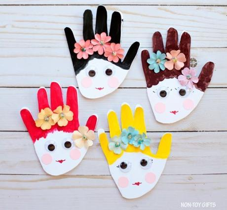 15 Adorable Mother's Day Crafts for Kids to Make - Paperblog