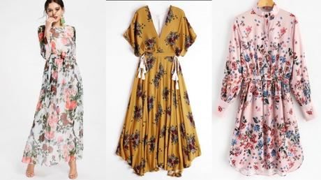 Dresses that can never go out of style, zaful floral dress