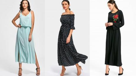 Dresses that can never go out of style, zaful maxi dress