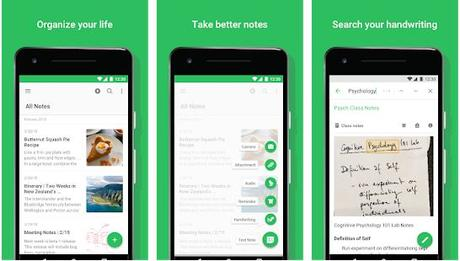 top 10 best notes taking apps android/ios 2018