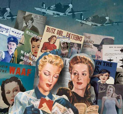 1940s wartime women pack