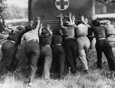 1940-Members-of-the-Women's-Mechanised-Transport-Corps---Reg-Speller-Getty