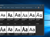 Install Fonts Windows from Microsoft Store