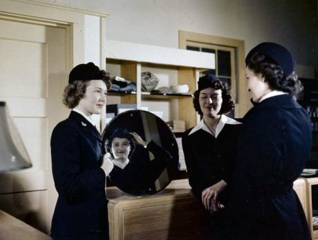 WAVES Winter Uniform 1940s