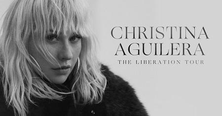 Christina Aguilera First Tour In Over A Decade