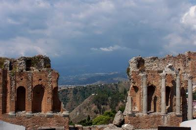 Sicily 12:  Taormina (i)      [Sky Watch Friday]